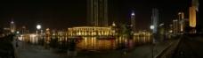 璀璨的海河夜色图片