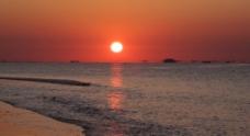 大海日出图片