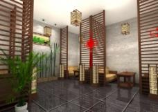 茶室大厅图片