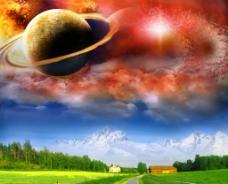宇宙世界图片