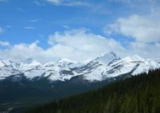 雪山美景图片