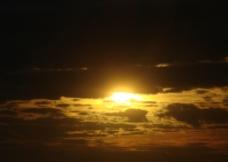 夕阳晚景图片
