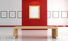 3d壁画相框 空白相框图片