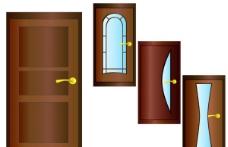 门矢量素材图片
