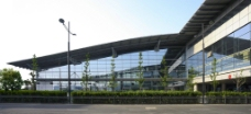 车站绿化带图片