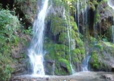 水帘仙宫瀑布图片