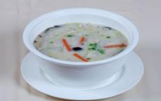 鱼滑汤泡饭图片