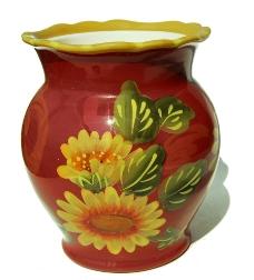 红色花瓶图片图片