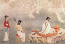 国画人物图片