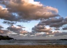 落日景色图片