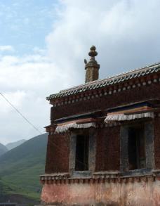 拉卜楞寺的房屋建筑图片