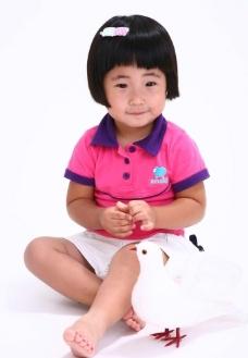 可爱的小女孩图片