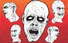 僵尸 骷髅图片