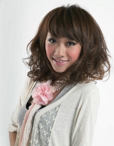 高清美女发型图片