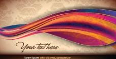 动感线条曲线 古典花纹 底纹图片
