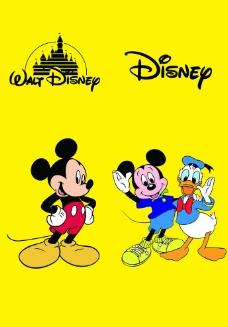 米老鼠和唐老鸭图片