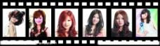 潮流各式发型图片