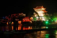 凤凰夜景图片