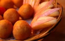 香芋地瓜丸图片