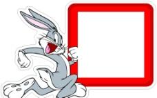 兔八哥开关贴图片