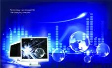 科技(背景合层)图片