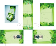 邓老凉茶展示盒图片