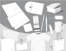 空白企业vi设计图片