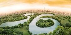 上海美兰湖56年辉煌图片