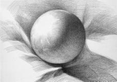 石膏球体图片