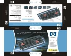 HP键盘包装盒图片