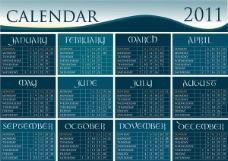 2011年历模板3