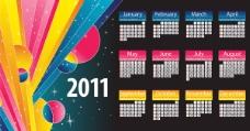 2011年历模板2