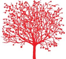 抽象的树图片