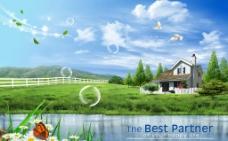 乡村别墅图片