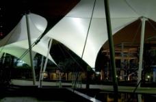 侨城水景夜景图片