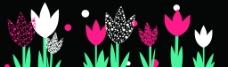 抽象花卉装饰画图片