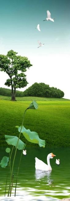 绿色风景图片