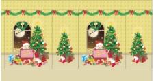 圣诞女孩礼品袋图片