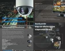 监控摄像机英文大海报图片