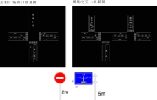 十字路口图片