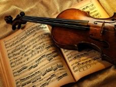 小提琴背景