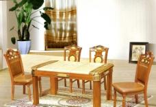 豪华餐桌椅图片