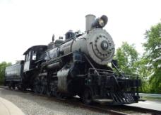 老式火车图片