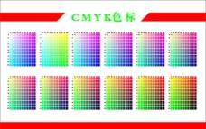 CMYK色标图片