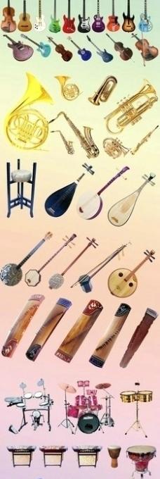 世界各类乐器集合图片