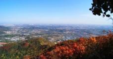 香山远眺图片