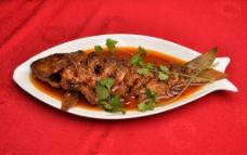 红烧鲤鱼图片