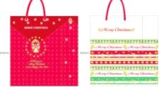 圣诞纸袋2款图片