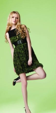 夏装 裙子 外国美女 美女 高跟鞋 模特 性感图片图片