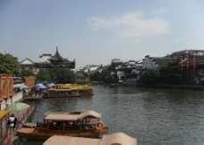 南京夫子庙 码头图片